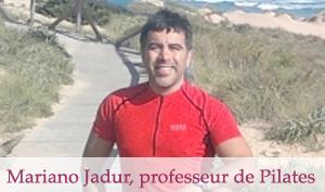 Mariano Jadur, professeur de Pilates